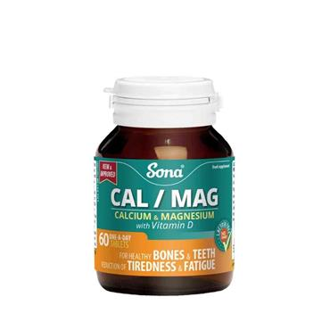 Sona CalMag Tabs One A Day 60 Tablets