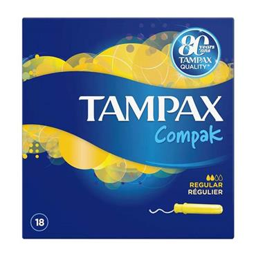 Tampax Compak Regular 18 Pack