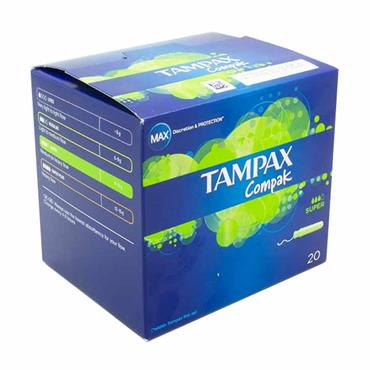 Tampax Compak Super 18 Pack