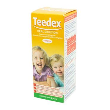 Teedex Oral Solution Sugar Free 100ml with Dosing Syringe