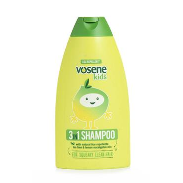 Vosene Kids Shampoo 3 In 1 250ml
