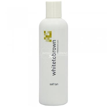 White to Brown Medium Self Tan Lotion 250ml