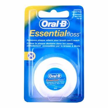 Oral B Essential Unwaxed Dental Floss