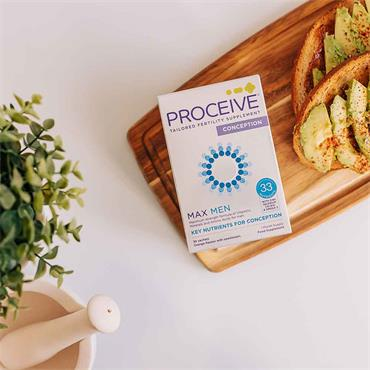 Proceive Max Men Advanced Fertility Supplement 30 Sachets