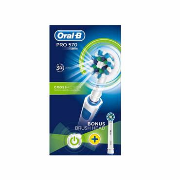 Oral B Pro 570 Cross Action Electric Toothbrush