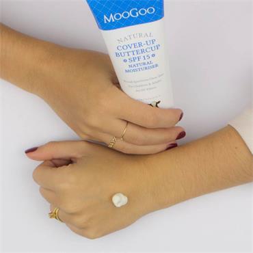 Moogoo Cover Up Buttercup SPF15 Natural Moisturiser 120g