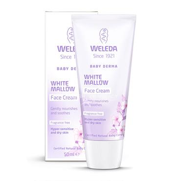 Weleda Baby Derma White Mallow Face Cream 50ml