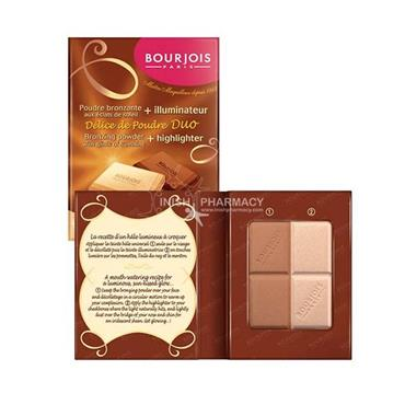 Bourjois Delice De Poudre 55 Highlighter Bronzer Duo