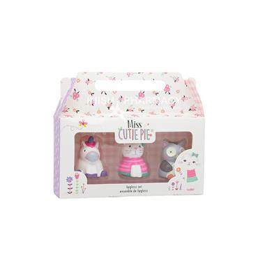 Miss Cutie Pie Lip Gloss Set 3 Piece Set