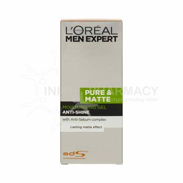 L'Oreal Men Expert Pure & Matte Moisturising Gel 50ml