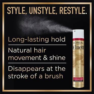 L'Oreal Elnett Strong Hold Volume Hairspray For Flat Hair 200ml