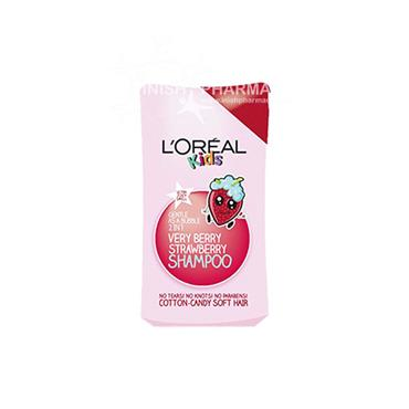 L'Oreal Kids Very Berry Strawberry 2in1 Shampoo 250ml