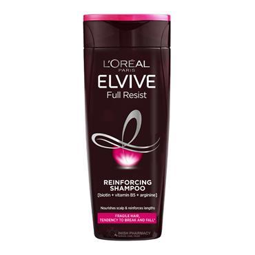 L'Oreal Elvive Full Resist Reinforcing Fragile Hair Shampoo 500ml