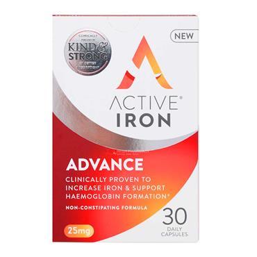 Active Iron Advance 25mg 30 Capsules