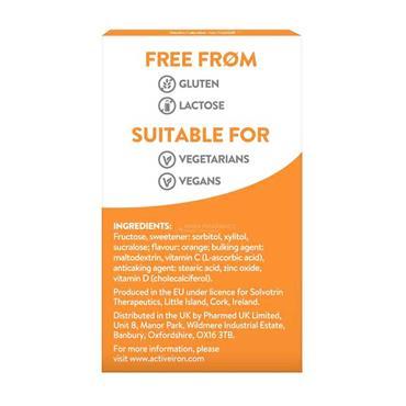Active Immune Kids Vitamin C D & Zinc 60 Chews