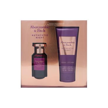 Abercrombie & Fitch Authentic Night Ladies 2 Piece Giftset
