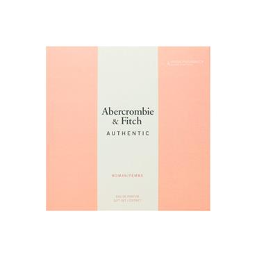 Abercrombie & Fitch Authentic Ladies 2 Piece Giftset