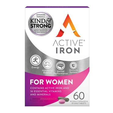 Active Iron For Women 60 Pack