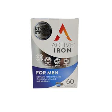 Active Iron For Men 60 Pack