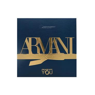Armani Stronger With You Mens 3 Piece Giftset