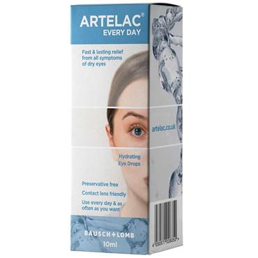 Artelac Everyday Hydrating Eye Drops 10ml