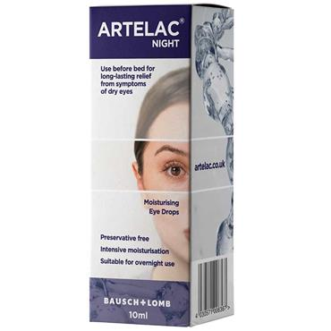 Artelac Night Moisturising Eye Drops 10ml