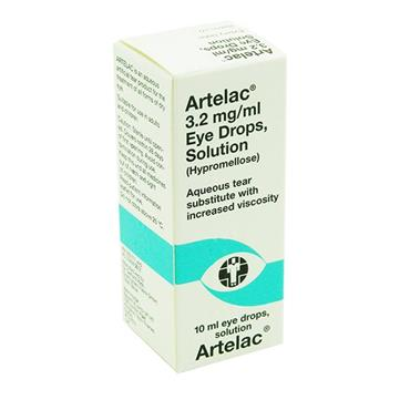 Artelac Hypromellose Eye Drops 10ml