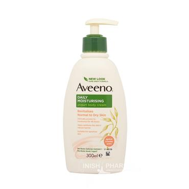 Aveeno Daily Moisturising Yogurt Body Cream Apricot & Honey 300ml Pump