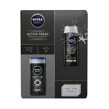Nivea Men Active Fresh 2 Piece Gift Set