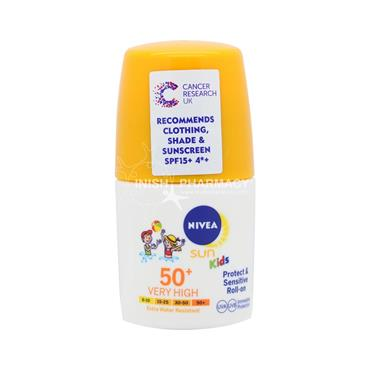 Nivea Sun Kids Protect & Sensitive Roll-on SPF50+