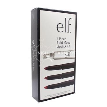 e.l.f. 4 Piece Bold Matte Lipstick Kit