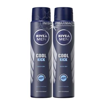 Nivea Men Cool Kick AP 150ml Twin Pack