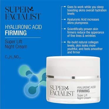 Super Facialist Hyaluronic Firming Super Lift Night Cream 50ml