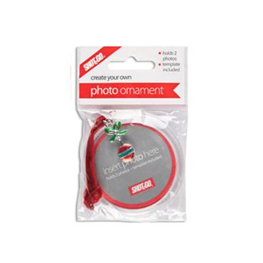 Shot2Go Jangle Christmas Photo Ornament - Bauble