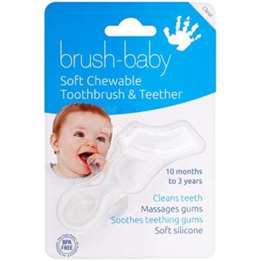 Brush-Baby Soft Chewable Toothbrush 10-36m