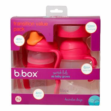 b.box Transition Value Pack - Raspberry