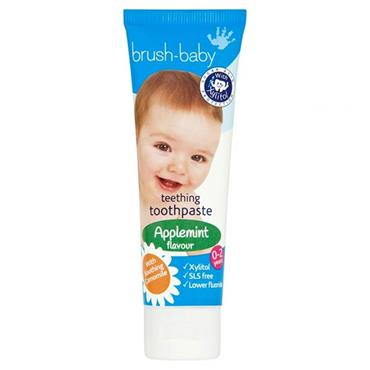 Brush-Baby Teething Toothpaste Applemint Flavour 50ml