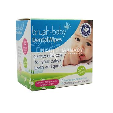 Brush-Baby Dental Wipes 28 Pack