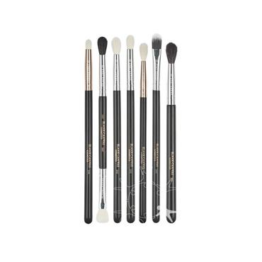 Blank Canvas Cosmetics Dimension Series One Stop Smokey Eye 7  Piece Brush Set