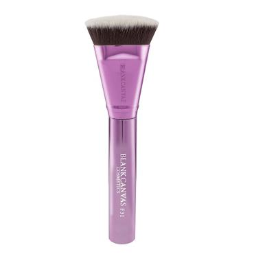 Blank Canvas Cosmetics Dimension Series F31 Metallic Champagne Pink Targeted Contour Brush
