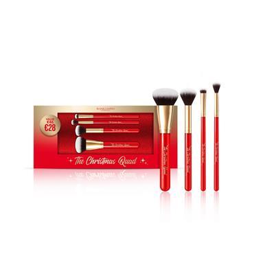 Blank Canvas Cosmetics Christmas Quad 4 Pc Brush Set