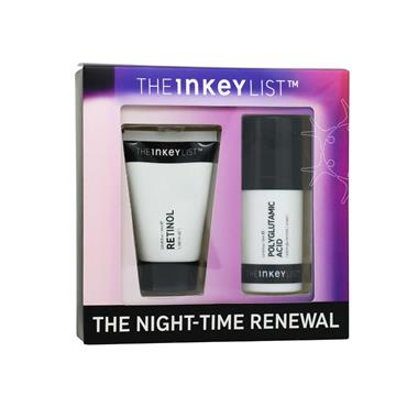 The Inkey List - The Night-Time Renewal 2 Piece Set