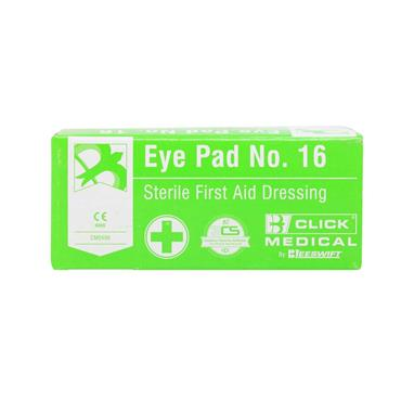 Beeswift Eye Pad No.16 Sterile First Aid Dressing