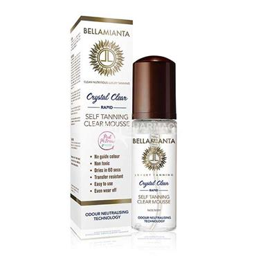 Bellamianta Crystal Clear Self Tanning Clear Mousse 150ml