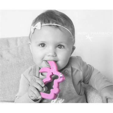 Belo Bunny Teething Toy Pink