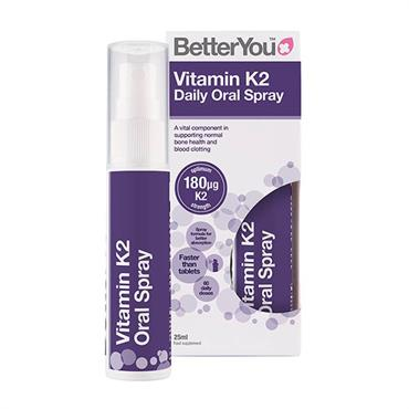 BetterYou Vitamin K2 180mcg Daily Oral Spray 25ml