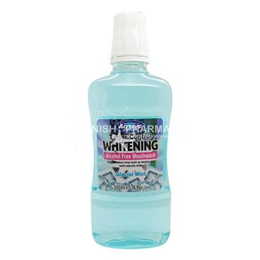 Beauty Formulas Active Oral Care Tarter Control Whitening Mint Mouthwash 500ml