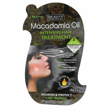 Beauty Formulas Macadamia Oil Intensive Hair Treatment 1 Sachet