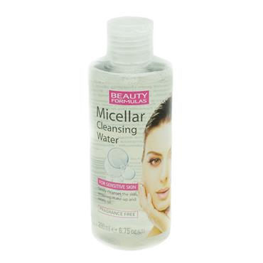 Beauty Formulas Micellar Cleansing Water For Sensitive Skin 200ml