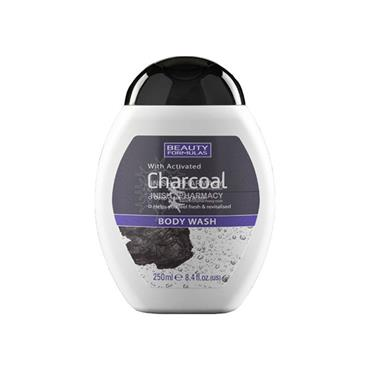 Beauty Formulas Activated Charcoal Body Wash 250ml